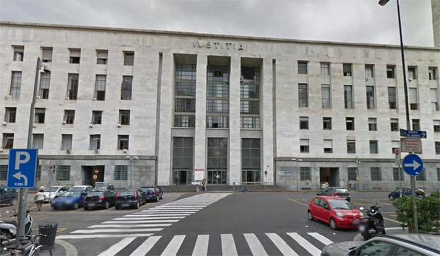 Budynek sądu w Mediolanie