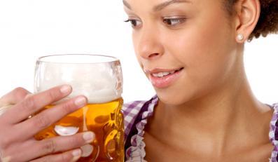 Piwo - spec od włosów jak z reklamy
