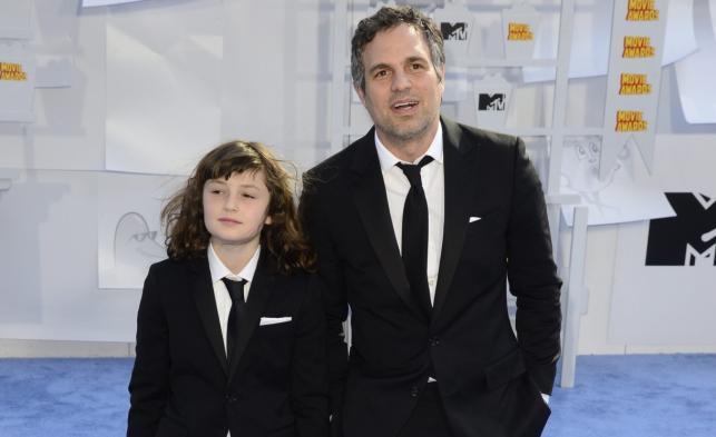 Mark Ruffalo z córką na gali MTV Movie Awards 2015