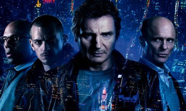 Liam Neeson finiszuje na pierwszym miejscu. \