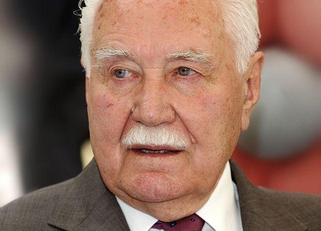 Ryszard Kaczorowski, fot. Cezary Piwowarski, licencja CC BY-SA 3.0