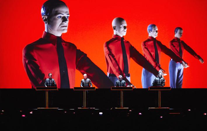 Kraftwerk 3-D w Operze Leśnej w Sopocie