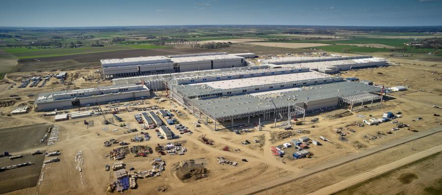 Fabryka Volkswagena w Białężycach koło Wrześni