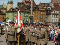 Uroczyste Święto Konstytucji 3 Maja. Prezydent wspomniał o wojnie i rosyjskich czołgach