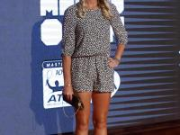 Tenisistki w Madrycie w pięknych sukienkach zaprezentowały się na czerwonym dywanie. ZDJĘCIA