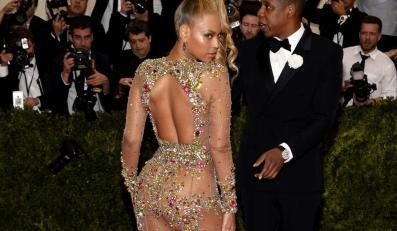Beyoncé Knowles i Jay Z na Met Ball 2015