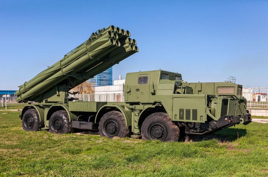 Rosyjska wyrzutnia rakiet