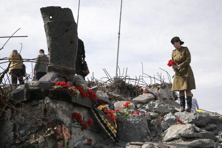 Dzień Zwycięstwa na Ukrainie