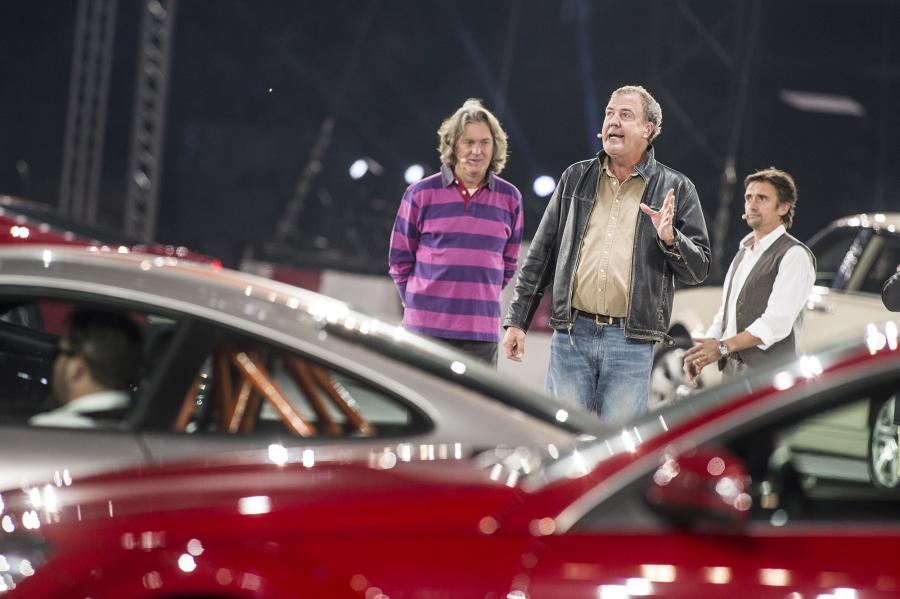 James May, Jeremy Clarkson i Richard Hammond