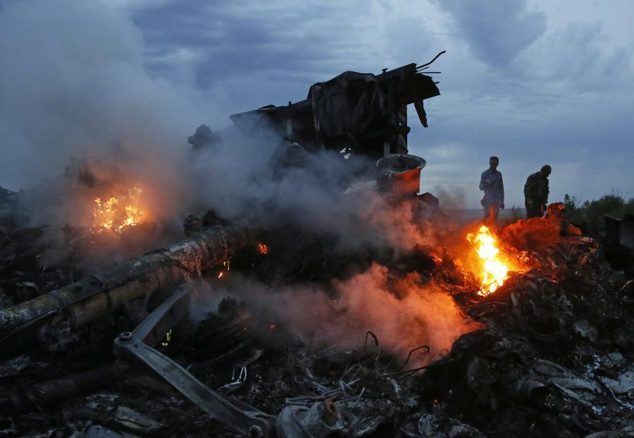 Zestrzelony malezyjski samolot