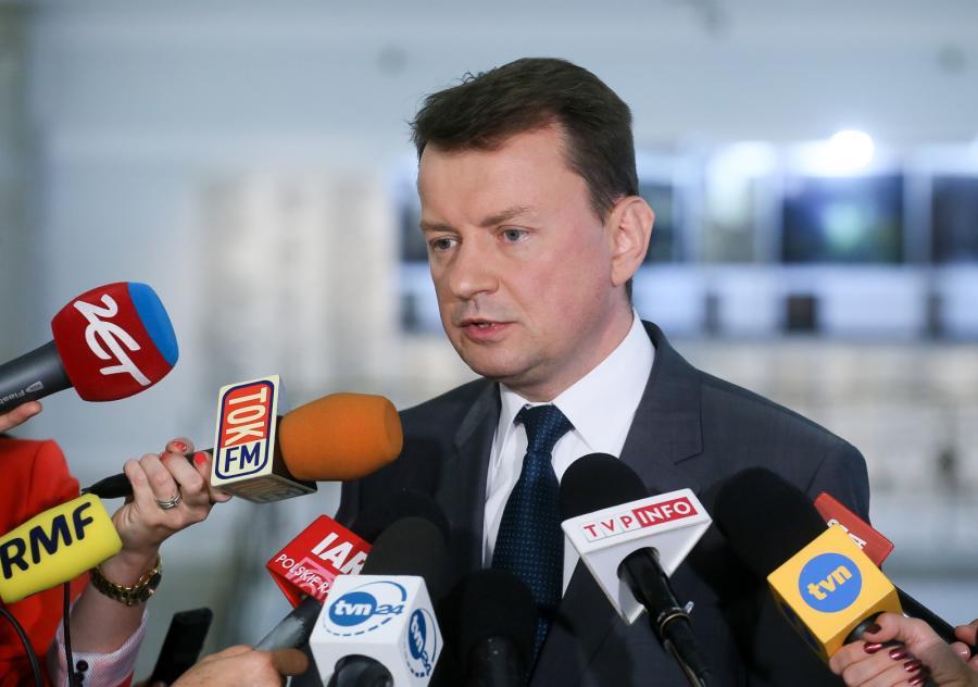 Przewodniczący KP PiS Mariusz Błaszczak