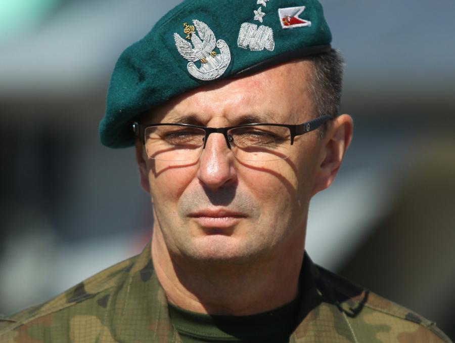 Na zdjęciu archiwalnym z dnia 05.09.2014. generał Marek Tomaszycki