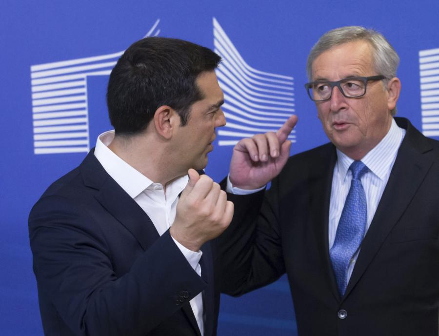Aleksis Tsipras i Jean-Claude Juncker