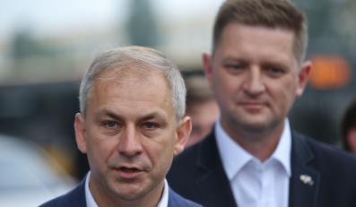 Grzegorz Napieralski i Andrzej Rozenek