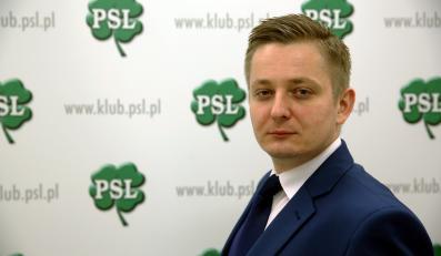 Jakub Stefaniak, rzecznik klubu PiS