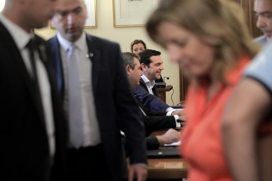 Spotkanie liderów greckich partii u prezydenta