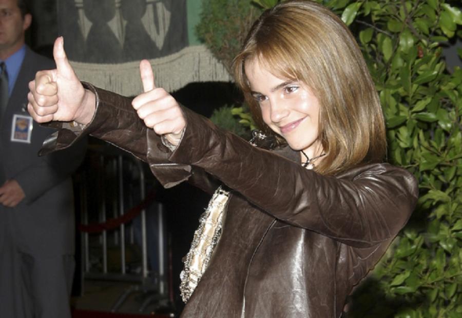 Emma Watson, gdy wygrała casting na rolę w serii o Harrym Potterze miała 10 lat