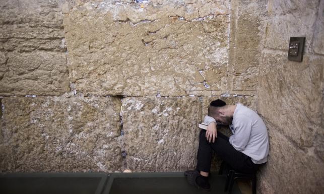 Lamenty, płacz, czuwanie... Tisza be Aw. Najsmutniejsze święto żydowskie. ZDJĘCIA
