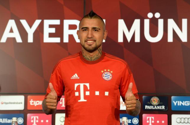 Arturo Vidal piłkarzem Bayernu Monachium