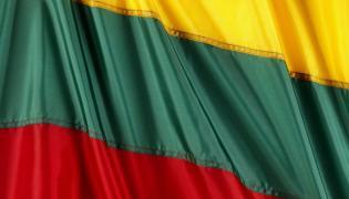 Litewska flaga - zdjęcie ilustrcyjne