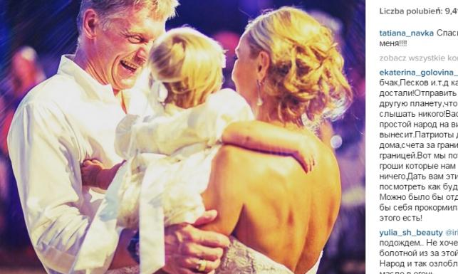 Rzecznik Kremla poślubił piękną łyżwiarkę. Rosyjski ślub roku…