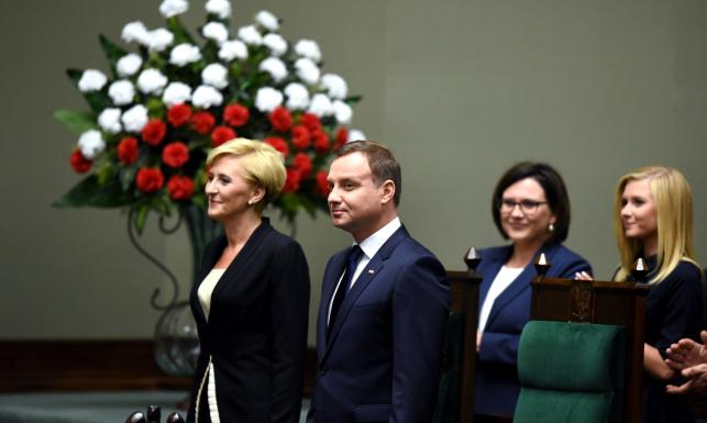 Andrzej Duda prezydentem. ZDJĘCIA z uroczystości w Sejmie