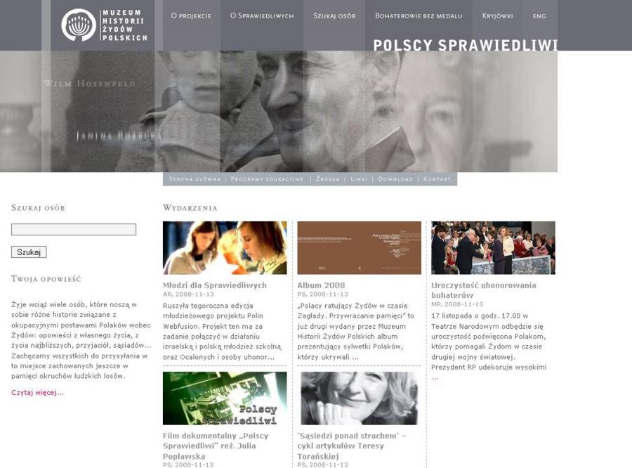Ruszył portal poświęcony Polakom ratującym Żydów w czasie II wojny światowej