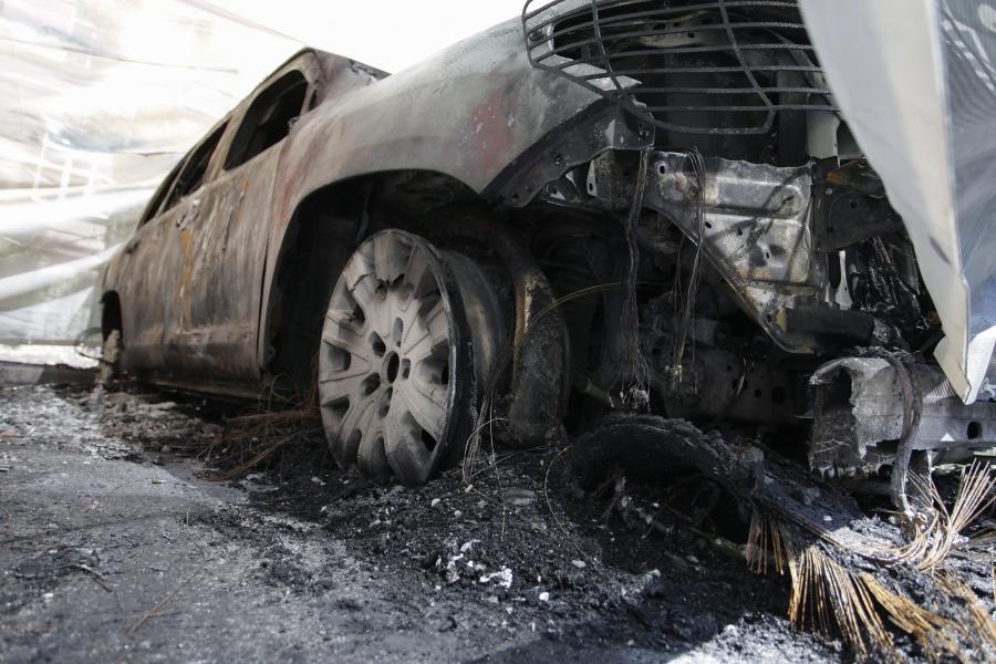 Spalone auta OBWE