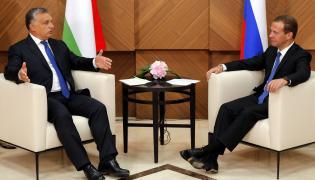 Viktor Orban i Dmitrij Miedwiediew
