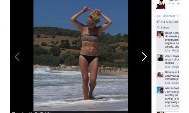 Monika Olejnik pokazała mocno rozebrane zdjęcia z wakacji. Fani zachwyceni!