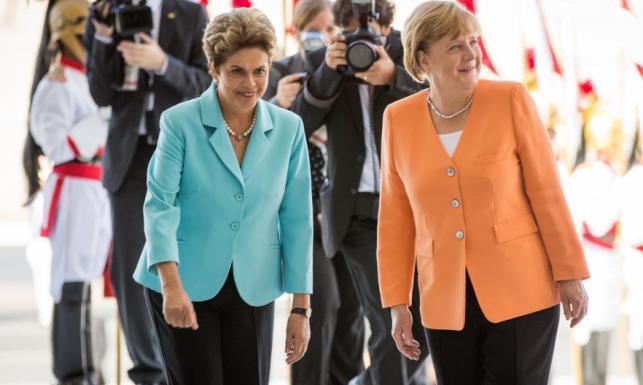 Spadek wagi niesamowicie odmłodził prezydent Brazylii. Merkel wysiadła!