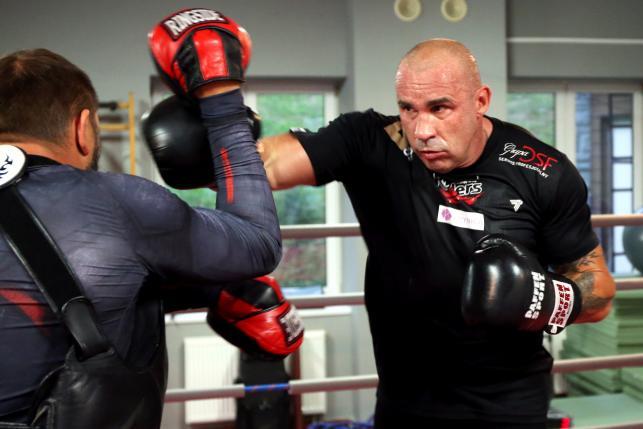 Przemysław Saleta szykuje się do walki z Tomaszem Adamkiem