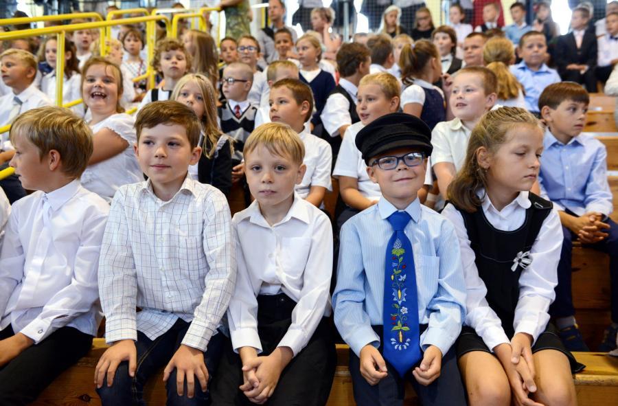 Inauguracja roku szkolnego w Szkole Podstawowej im. Józefa Wybickiego i Gimnazjum im. Jana Pawła II w Jastarni