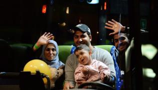 Uchodźcy dotarli do Monachium