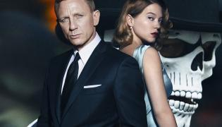 """007, Léa Seydoux i czaszki na nowych plakatach """"Spectre"""""""