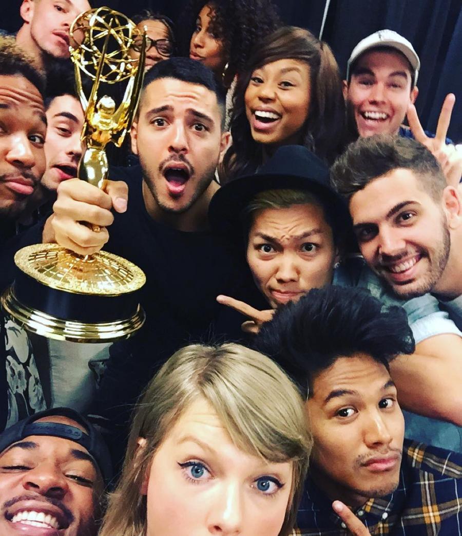 Taylor Swift cieszyła się z przyjaciółmi