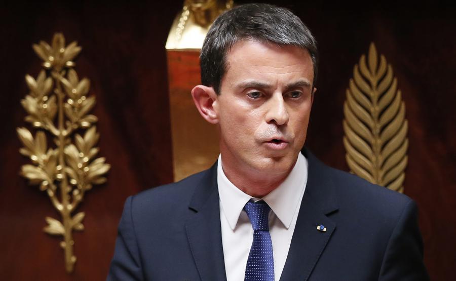 Premier Manuel Valls