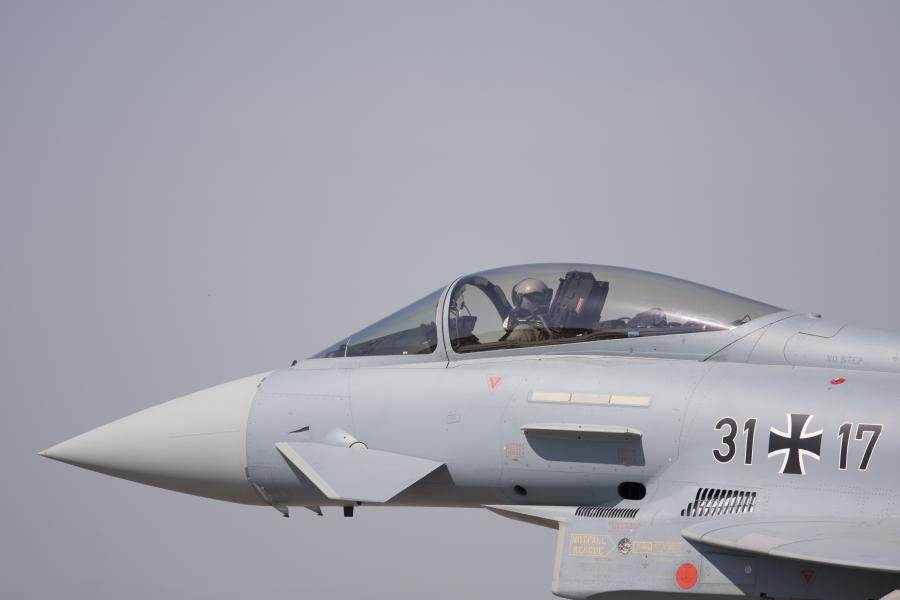 Niemiecki eurofighter