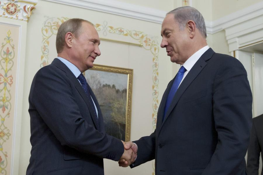 Władimir Putin i Benjamin Netanjahu