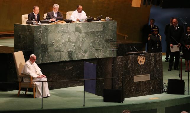 Papież Franciszek w ONZ o działaniach na rzecz środowiska i wykluczonych