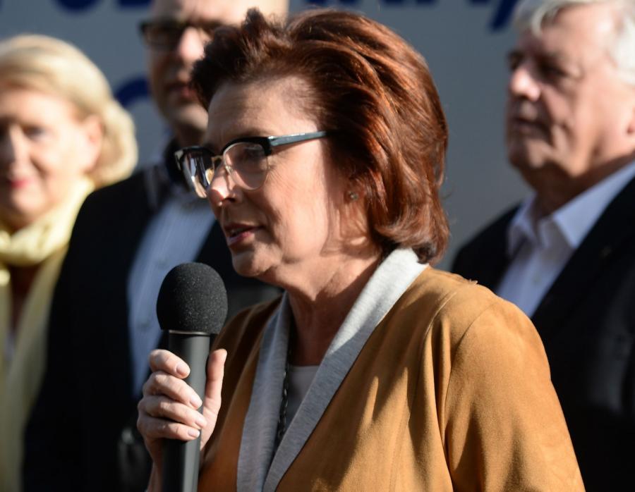 Marszałek Sejmu Małgorzata Kidawa-Błońska