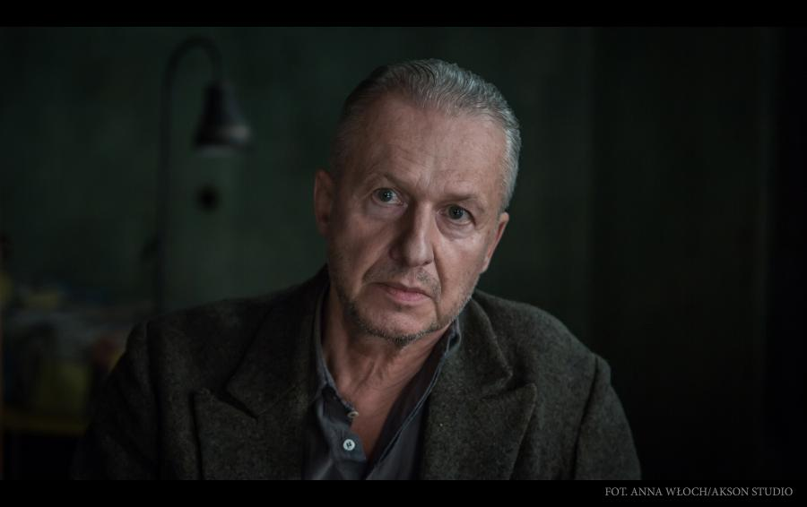 Bogusław Linda jako Władyław Strzemiński w filmie Andrzeja Wajdy \