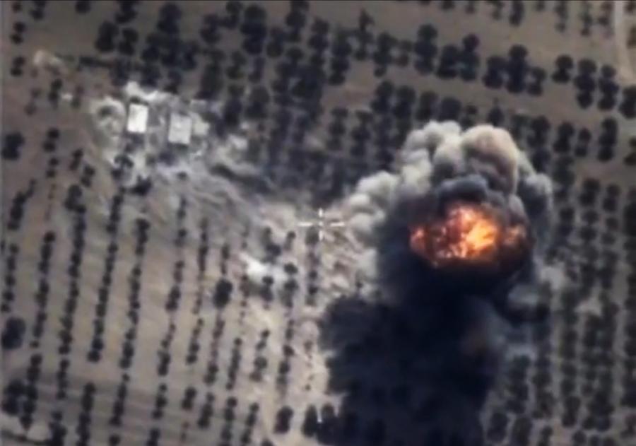 Rosyjskie naloty na Syrię