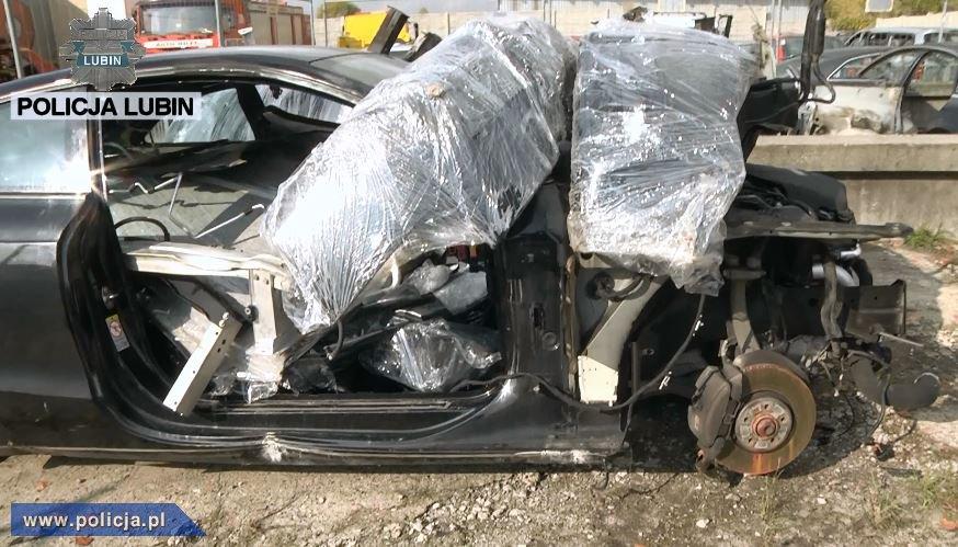 Zdemontowane Audi