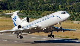 Tu-154M w barwach linii Atlant-Soyuz Airlines