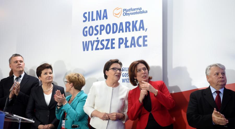 Tomasz Siemoniak, Hanna Gronkiewicz-Waltz, Ewa Kopacz, Małgorzata Kidawa-Błońska
