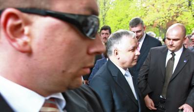 Lech Kaczyński pojedzie do Azji z własną ochroną