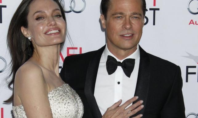 Wciąż najpiękniejsi? Angelina Jolie i Brad Pitt razem w łóżku, filmie i na premierze [ZDJĘCIA]