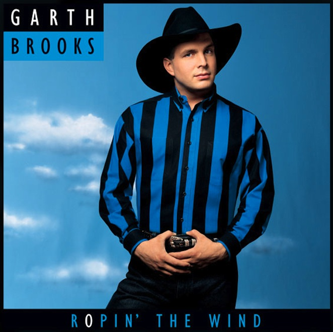 "6. ""Ropin' The Wind"" – Garth Brooks"