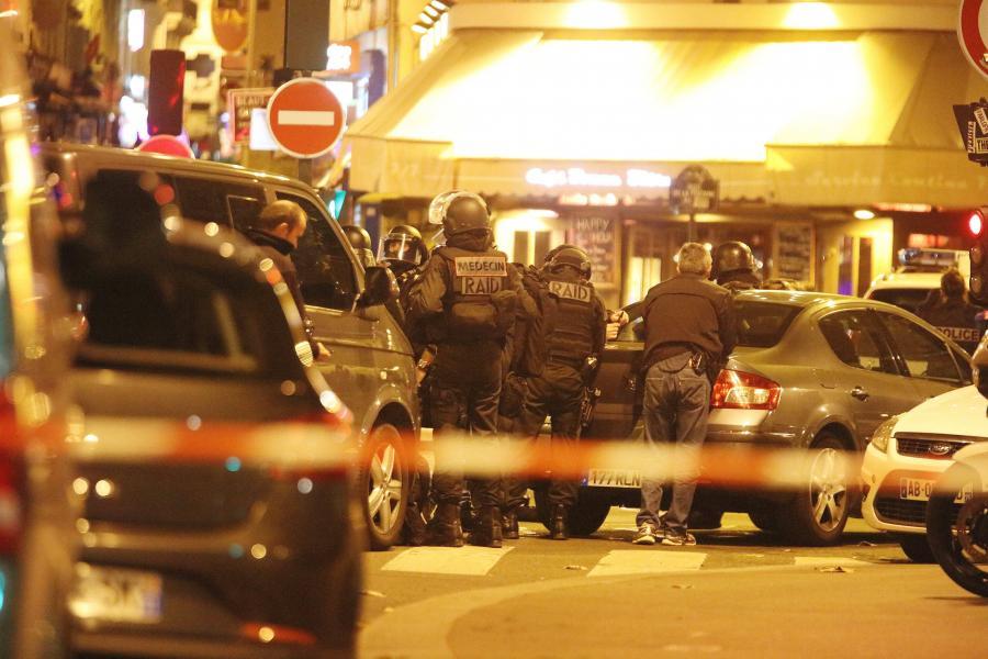 Policja w centrum Paryża